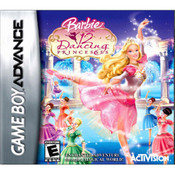 Barbie in the 12 Dancing Princesses Video Game For Nintendo GBA