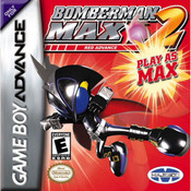Bomberman Max 2 Red Advance Video Game For Nintendo GBA