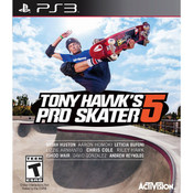 Tony Hawk Pro Skater 5 Video Game For Sony PS3