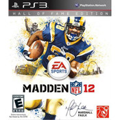 Madden 12 Hall of Fame Edition Video Game For Sony PS3