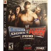 WWE Smackdown vs Raw 2010 Video Game For Sony PS3