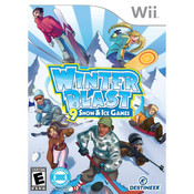 Winter Blast Snow and Ice Games Video Game For Nintendo Wii