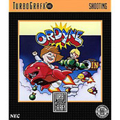 Ordyne Video Game For Turbo Grafx 16