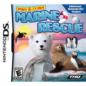 Paws & Claws Marine Rescue Video Game For Nintendo DS