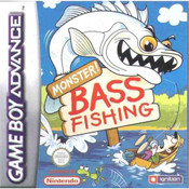 Monster Bass Fishing Video Game For Nintendo GBA