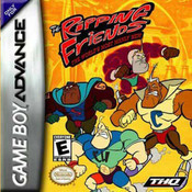 Ripping Friends World's Most Manly Men Video Game For Nintendo GBA
