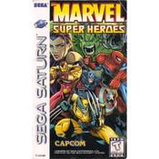 Marvel Super Heroes Video Game For Sega Saturn