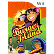 Burger Island Video Game For Nintendo Wii