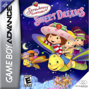 Strawberry Shortcake Sweet Dreams Video Game For Nintendo GBA
