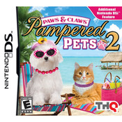 Paws & Claws Pampered Pets 2 Video Game For Nintendo DS
