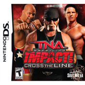 TNA Impact Cross the Line Video Game For Nintendo DS