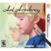 Art Academy Lessons for Everyone Video Game For Nintendo 3DS
