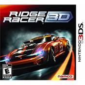 Ridge Racer 3D Video Game For Nintendo 3DS