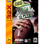 NFL Quarterback Club Complete Game For Sega 32X