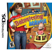Babysitting Mania Video Game For Nintendo DS