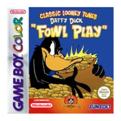Daffy Duck Fowl Play Video Game For Nintendo GBC