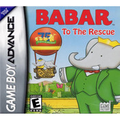 Babar to the Rescue Video Game For Nintendo GBA
