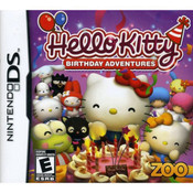 Hello Kitty Birthday Anniversary Video Game For Nintendo DS