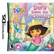 Dora Saves the Mermaids Video Game For Nintendo DS