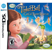 Tinker Bell Great Fairy Rescue Video Game For Nintendo DS