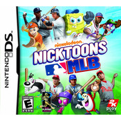 Nicktoons MLB Video Game For Nintendo DS