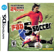 Fab 5 Soccer Video Game For Nintendo DS