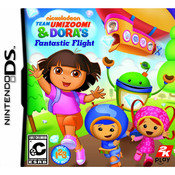 Team Umizoomi & Dora's Fantastic Flight Video Game For Nintendo DS