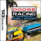 Dodge Racing Charger vs Challenge Video Game For Nintendo DS