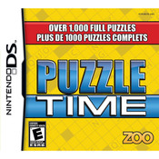 Puzzle Time Video Game For Nintendo DS