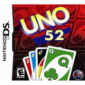 Uno 52 Video Game For Nintendo DS