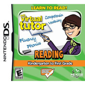 Virtual Tutor Reading K to 1st Video Game For Nintendo DS