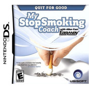 My Stop Smoking Coach Video Game For Nintendo DS