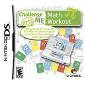 Challenge Me Math Workout Video Game For Nintendo DS