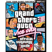 Grand Theft Auto Vice City BradyGame Game Guide For Sony PS2