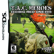 T.A.C Heroes Big Red One Video Game For Nintendo DS