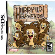 Hurry Up Hedgehog Video Game For Nintendo DS
