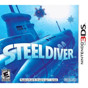 Steel Diver Video Game For Nintendo 3DS