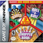 Majesco's Rec Room Challenge 3 Games in One Video Game For Nintendo GBA