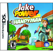 Jake Power Handyman Video Game For Nintendo DS