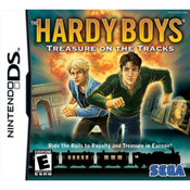 Hardy Boys Treasure of the Tracks Video Game For Nintendo DS