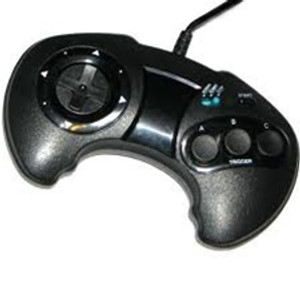 3rd Party Three (3) Button Controller - Genesis