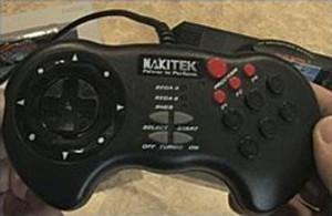 Nakitek 6 Button Controller - Sega Genesis Super Nintendo SNES
