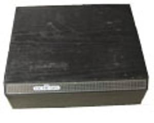 Original Sega Genesis Black Storage Cabinet / Holds 36 Games