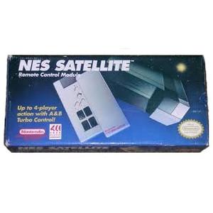 Complete Nintendo NES Satellite - Wireless 4-Player Adapter Controller