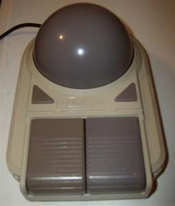 Quick Shot Deluxe Joyball Controller - Nintendo NES