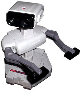 R.O.B. The Robot Nintendo NES Accessory (Not Fully Functional)