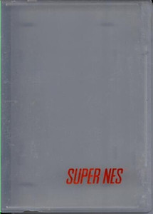 SNES Game Hard Plastic Case CLEAR - 1 ct