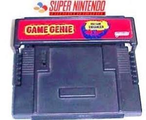 Game Genie - SNES Game Enhancer