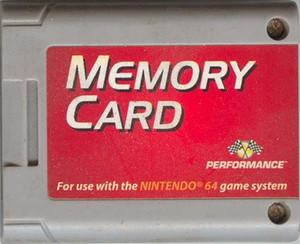 Performance Memory Card - Nintendo 64 (N64)