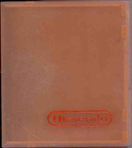 NES Game Hard Plastic Case ORANGE - 1 ct